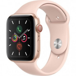 Apple Watch Series 5 Cellular 44 mm Boîtier en Aluminium Or