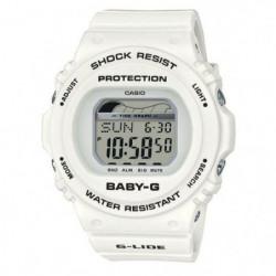 CASIO Baby-G Montre BLX-570-7ER indicateur des marées, blanc