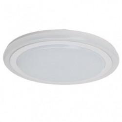 BRILLANT Plafonnier Tizian - Métal - LED 22W - Blanc plastique