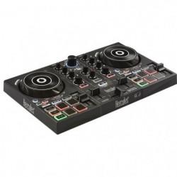 HERCULES Inpulse 200 - Contrôleur DJ USB - 2 pistes avec 8 pads