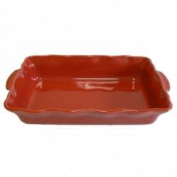 ESPRIT DE CUISINE Plat rectangle - 41cm - Festonné - Couleur