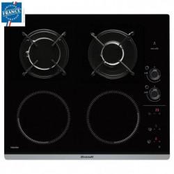 BRANDT BPI6413BM - Table de cuisson mixte induction / gaz - 4