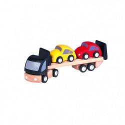 PLAN TOYS - PT6043 - Jeu en bois - Véhicule - Transport de