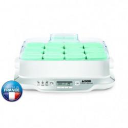 SEB Yaourtiere Multi Délices Family - YG6581FR - 12 pots - Blanc