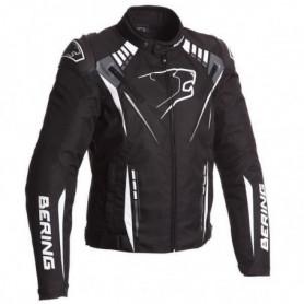 BERING Primo R Blouson Moto - Noir / Blanc