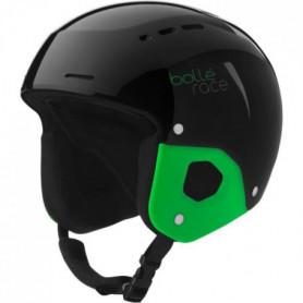BOLLE Casque de ski enfant Quickster Shiny - Mixte - Noir et vert