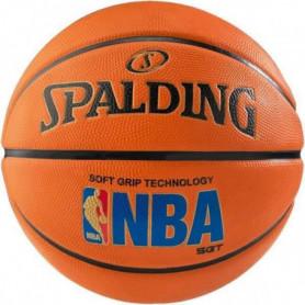 SPALDING Ballon de basket-ball NBA SGT - Taille 7 - Orange