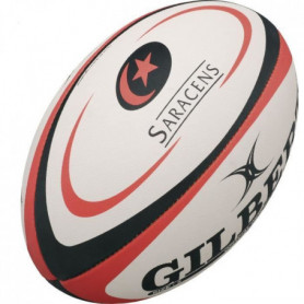 GILBERT Ballon de rugby REPLICA - Saracens - Taille Mini