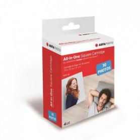 AGFA ASQC30 Cartouche Imprimante Photo Realpix Square S - 3*3 - 30