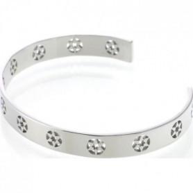 AILORIA Bracelet jonc coloris argent