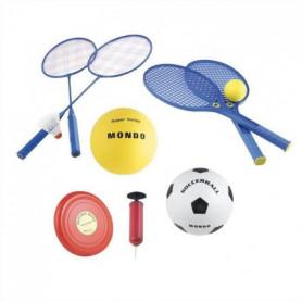 MONDO - Set Multisport Jeux de plage 5 en 1