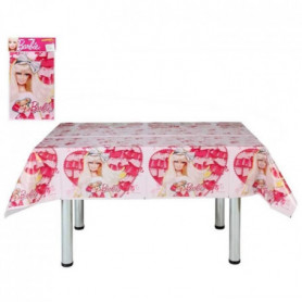 ATOSA Nappe en plastique jetable - Collection Barbie - Fille