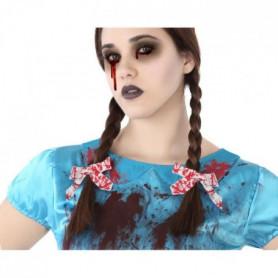 ATOSA Accessoires cheveux S/rab/cart. - Rouge - 2 pieces