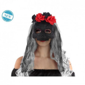 ATOSA - Masque Halloween Muerte - Noir - Adulte
