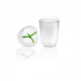 KARIS Kitchen shaker tools AA.2.13 - PLV 12pcs - Transparent et vert