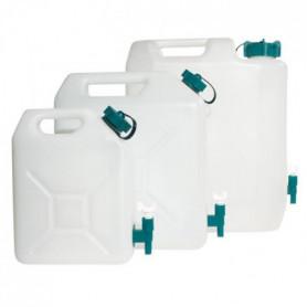 Jerrycan extra-fort avec robinet eau propre 35 litres