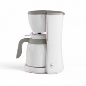 LIVOO DOD129G Cafetiere isotherme - Blanc