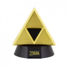 Lampe Veilleuse Zelda : Triforce Or - PALADONE