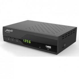 ASTRELL 013127 Décodeur satellite DVB-S2 HD FTA/noir
