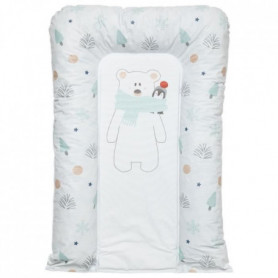 BABYCALIN Matelas a langer Flocons Ours Pingouin