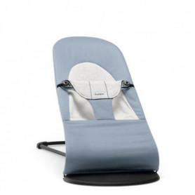 BABYBJORN Transat Balance Soft, Bleu/Gris, Coton/Jersey