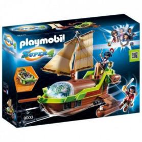 PLAYMOBIL 9000 - Super 4 - Bateau Pirate Caméléon