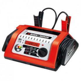 BLACK & DECKER BDSBC30A-QS Chargeur de Batterie 30A Rouge et Noir