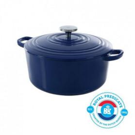 BK Cookware H6074.528 BK Bourgogne Cocotte en Fonte - Ronde - 28 cm