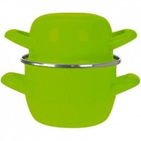 COSY & TRENDY Marmite à moule - D12cm Vert-0.5Kg-0.9L