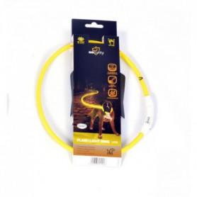 DUVO Anneau Lumineux Seecurity Flash Light Ring USB Nylon - 65 cm