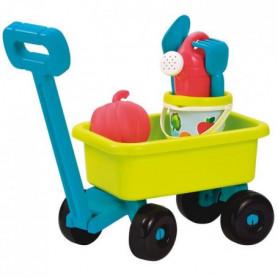 ECOIFFIER - 4340 - Chariot rétro jardin garni