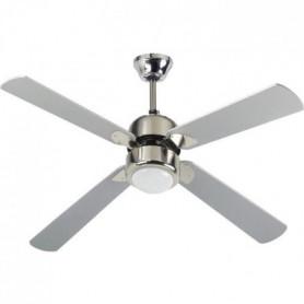 Ventilateur de plafond - FIJI -  122cm - 4 pales - 1 globe