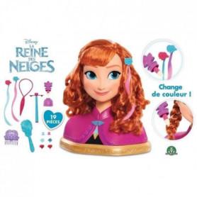 Disney Princesses - Tete a Coiffer Deluxe - Anna