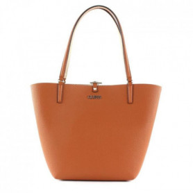 GUESS - sac a main femme - cognac / - rose gold
