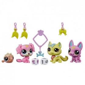 LITTLEST PET SHOP, Lucky Pets, Escouade chanceuse - Figurines