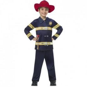 AMSCAN - Déguisement Pompier - pantalon, haut et chapeau