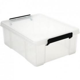 IRIS OHYAMA Boîte de rangement empilable avec couvercle - Multi Box 126026
