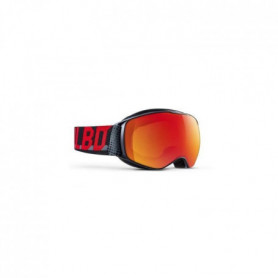 JULBO Masque de Ski Echo - Noir Cat 3 Rouge