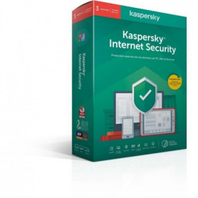 KASPERSKY Internet Security 2020, 3 postes, 1 an