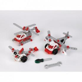 Bosch  - Set de construction Helicopter Team 3 en 1