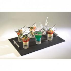 LEBRUN - 92LB105C1 - Service entrée/dessert 13 pieces Electro