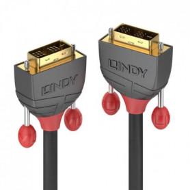 LINDY Câble DVI-D Single Link - Anthra Line - 10m
