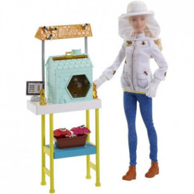 BARBIE - Barbie Coffret Metiers  Apicultrice - 3 ans et +