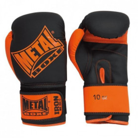Gants Iron Noir et Orange 8 oz