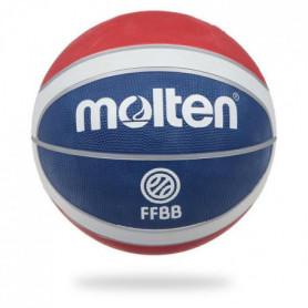 MOLTEN Ballon de Basket Replica FFBB - Bleu, Blanc et Rouge 7 - Homme