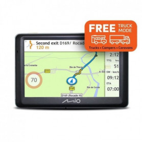 MIO SPIRIT 7700 GPS poids lourds, caravanes, mobiles home