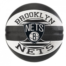 SPALDING Ballon de basket NBA Teamball Brooklyn Nets