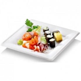 NATURESSE - 15382 - 50 assiettes rondes - Eco Line canne a sucre