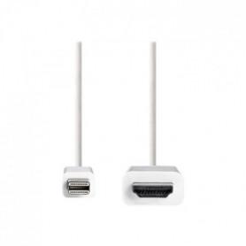 NEDIS Mini DisplayPort - HDMI™ Cable - Mini DisplayPort Male
