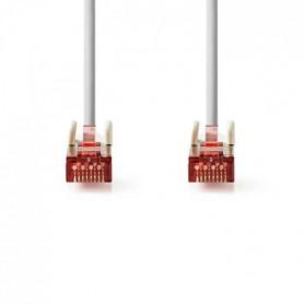 Cable Réseau Cat 6 S-FTP | RJ45 Male - RJ45 Male | 2,0 m | Gris